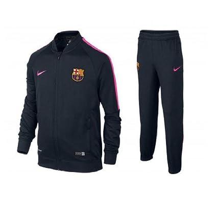 Nike Warm Up - Chándal de fútbol para niño, Color Azul (Dark ...