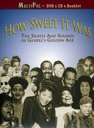 DVD : Rev. James Cleveland - How Sweet It Was: The Sights And Sounds Of Gospel's Golden Age (DVD)