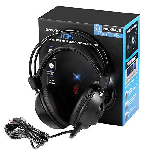 VRO USB LED Game Light Headset for PC PLEXTONE PC835 Notebook Computer Earphone