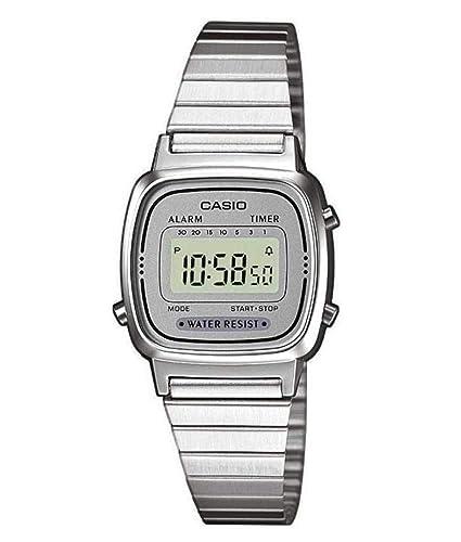 1bb3159e6d7 Casio Reloj de Pulsera LA670WEA-7EF  Amazon.es  Relojes