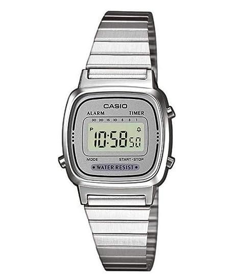 Casio Reloj de Pulsera LA670WEA-7EF  Amazon.es  Relojes 580564ac01fa