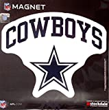 Dallas Cowboys ARCH Style Logo 12'' Magnet Heavy Duty Auto Home NFL Football