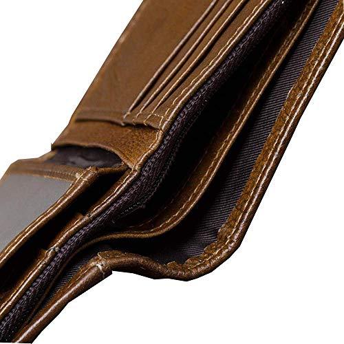 Strato Carta Multi Da Nuovo Pelle Ultra Primo By Bovina Corto sottile Uomo Portafoglio In Naxinf TPwvxI5x