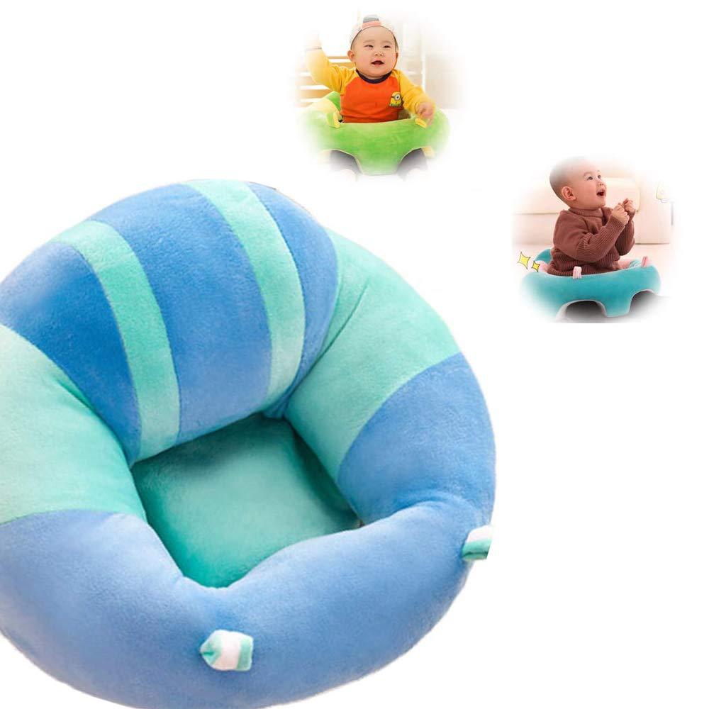 Chaise Infantile de Sofa de Peluche pour b/éb/é apprenant /à sasseoir JUMOWA Oreiller de si/ège de Soutien de b/éb/é