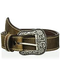 Ariat womens standard Basic Stitch Edged Belt