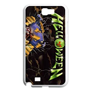 Samsung Galaxy N2 7100 Cell Phone Case Covers White Helloween I3617984