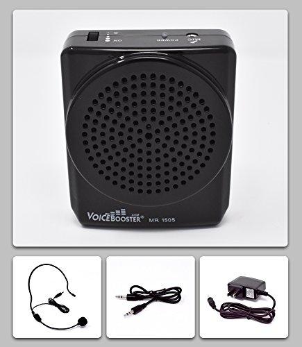VoiceBooster Voice Amplifier 12watts Black