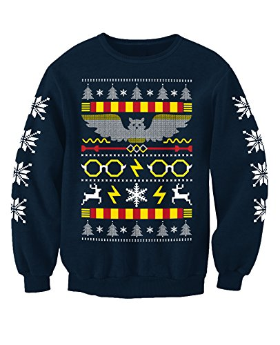 Harry Potter Inspired Movie Christmas Sweatshirt Jumper Adults ...