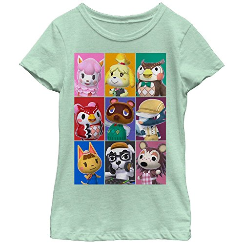 Fifth Sun Nintendo Animal Crossing Characters Girls Graphic T Shirt