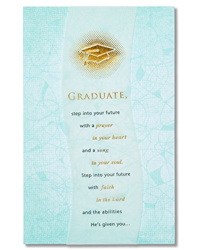 American Greetings Religious Graduation Card with Foil