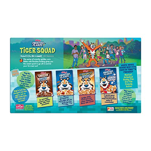 Kellogg's Frosted Flakes, Breakfast Cereal, Fat-Free, Family Size, 24 oz by Kellogg's (Image #7)