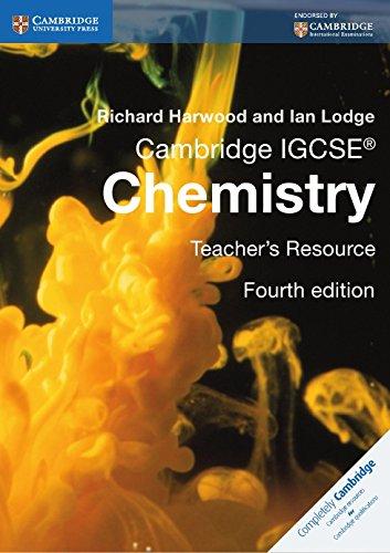 Cambridge IGCSE® Chemistry Teacher's Resource CD-ROM (Cambridge International IGCSE) by Cambridge University Press