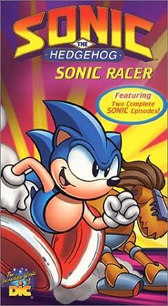 Sonic The Hedgehog Sonic Racer Import Amazon Ca Dvd