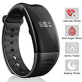 Heart Rate Watch, Arvin Blood Pressure Blood oxygen Monitor Smart Watch...