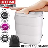 Travel Foot Rest Pillow, Inflatable Foot Rest