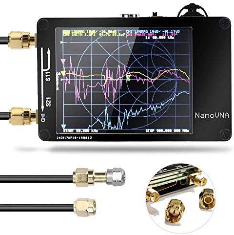 [해외]50KHz-900MHz Vector Network Analyzer Kit MF HF VHF UHF Antenna AnalyzerDigital LCD Display Touching Screen / 50KHz-900MHz Vector Network Analyzer Kit MF HF VHF UHF Antenna AnalyzerDigital LCD Display Touching Screen