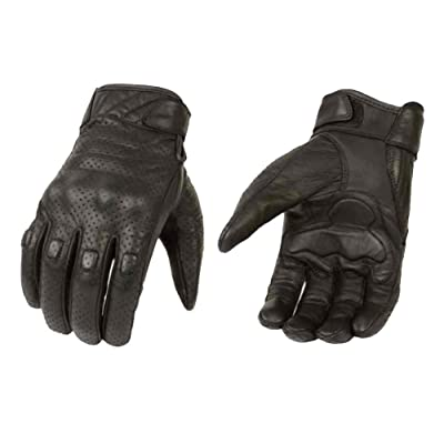 Milwaukee Leather Men\'s Premium Leather Perforated Cruiser Gloves MG7500 (S): Milwaukee Leather: Automotive [5Bkhe0806588]