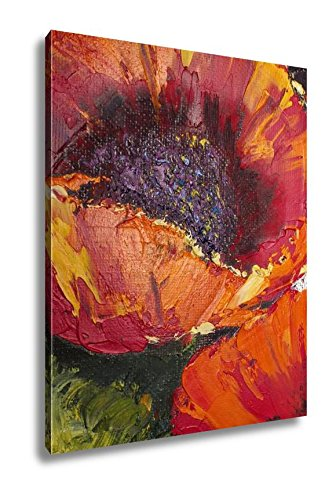 Ashley Canvas Oil Painting Flowers Art Painted Color Image Paint Wallpaper And S A