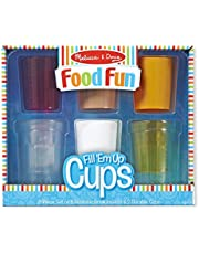 Melissa and Doug MD9542 Food Fun-Fill 'Em Up Cups Set (8 Pieces)
