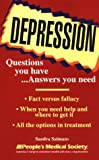 img - for Depression: Questions You Have...Answers You Need book / textbook / text book