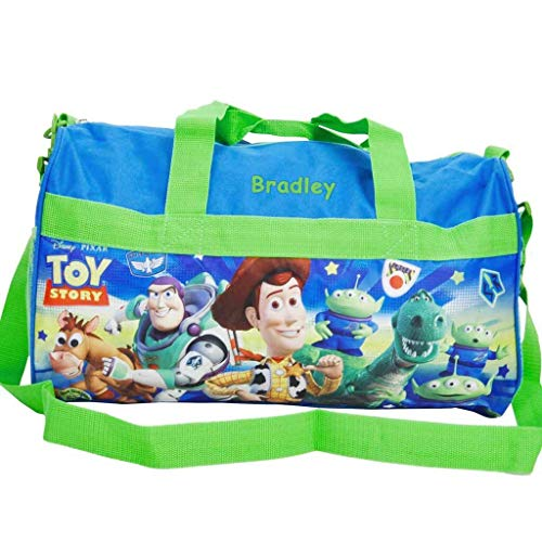 Personalized Licensed Kids Travel Duffel Bag – 18 Toy Story