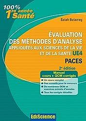 Evaluation des méthodes d'analyse appliquées aux sciences de la vie et de la santé - UE4 - 2ed (100% 1ere année Santé) (French Edition)