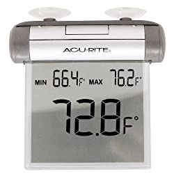 AcuRite 00603A3 Digital Window Thermometer