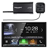 Car Audio Package: Kenwood DMX7704S 2-DIN Digital Media Receiver with Bluetooth & HD Radio, with SiriusXM SXV300v1 Satellite Radio Connect Vehicle Tuner Kit