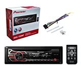 Pioneer-DEH-150MP-Car-Audio-CD-MP3-Stereo-Radio-Player-Front-Aux-Input-with-JVC-65-Inch-2-WAY-Car-Audio-Speaker-Black