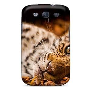 Premium Durable Jaguar Animal Djur And Fashion Tpu Galaxy S3 Protective Case Cover
