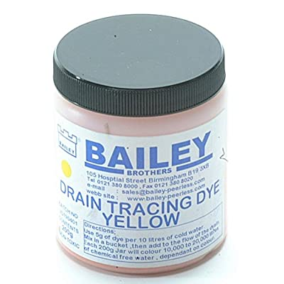 Bailey 3591 Drain Tracing Dye - Yellow: Automotive