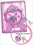 Pecoware Princess Rose Slippers Secret Diary with Lock