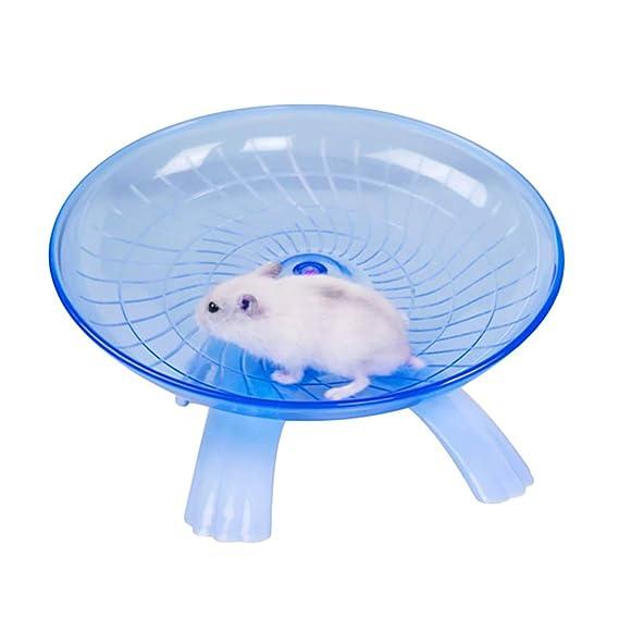 cd30c6e5efba Amazon.com : Beito Blue Hamster Wheel Flying Saucer Wheel Running ...