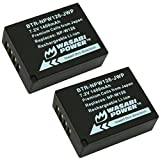 #10: Wasabi Power Battery for Fujifilm NP-W126, NP-W126S (2-Pack)
