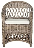 Cheap Safavieh Home Collection Inez Natural Wicker Club Chair