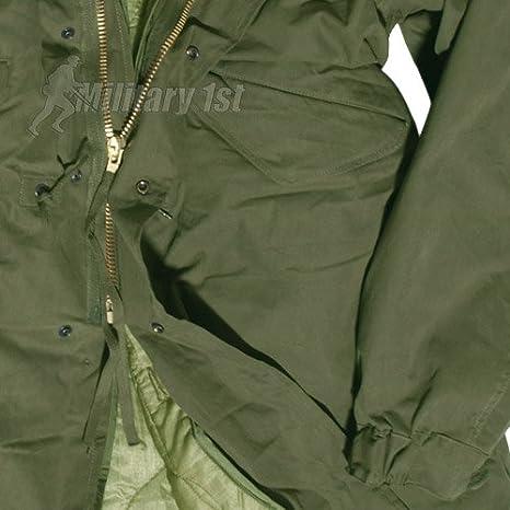 Amazon.com: Mil-Tec US M65 Parka Oliva: Clothing