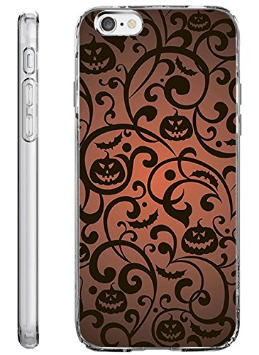 Case for iPhone 6S TPU Bumper for iPhone 6 / 6s Halloween Pattern