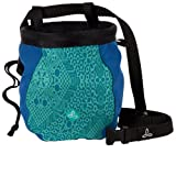 prAna Women's Chalk Bag with Belt, One Size, Turquoise Kaleidoscope, Outdoor Stuffs