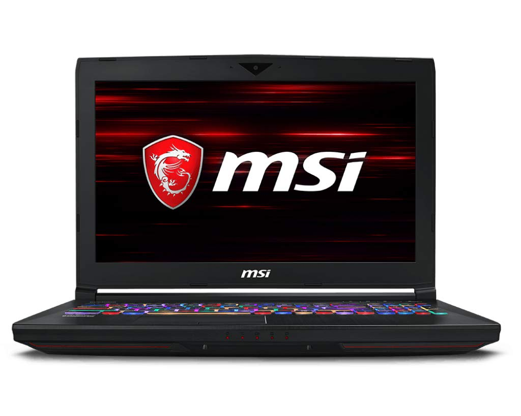 MSI GT63 TITAN-046 120Hz 3ms G-Sync Extreme Gaming Laptop i7-8750H (6 cores) GTX 1080 8G, 16GB 256GB NVMe SSD +1TB, 15.6…