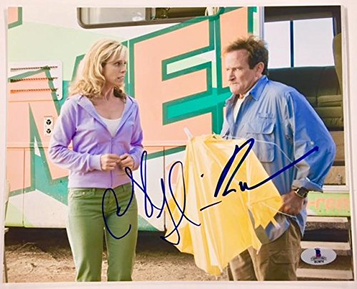 CHERYL HINES ~ ROBIN WILLIAMS Autograph RV Signed 8x10 Photo BAS COA Beckett PSA