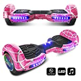 CHO Spider Wheels Series Hoverboard UL2272 Certified Hover Board with 6.5 inch Wheels Electric Scooter Smart Self Balancing Wheels...