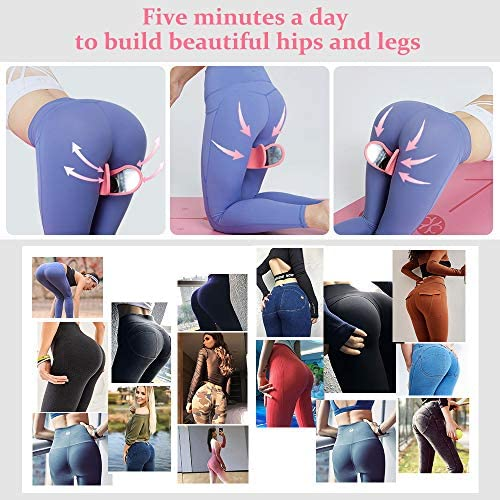 Super Kegel Exerciser, Pelvic Floor Muscle and Inner Thigh Exerciser, Hip Trainer Buttocks Lifting & Leg Stretcher, Correction Beautiful Buttocks for Women, Postpartum Rehabilitation,Workout Equipment