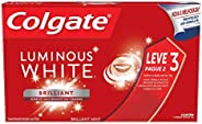 Creme Dental Colgate Luminous White Brilliant Mint 70G Promo Leve 3 Pague 2