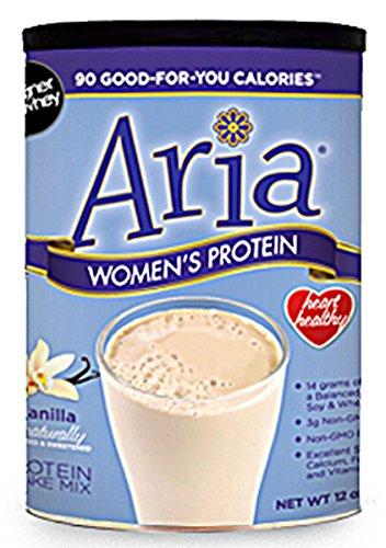 Aria Protein - Designer Protein Whey, Aria Women's Wellness Protein, Vanilla