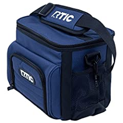 The RTIC Day Cooler has plenty of room to store what you need to keep cool for up to 24 hours. The outside is made of heavy-duty polyester & the inside utilizes a high density insulation. You can use ice or ice substitutes to keep items c...