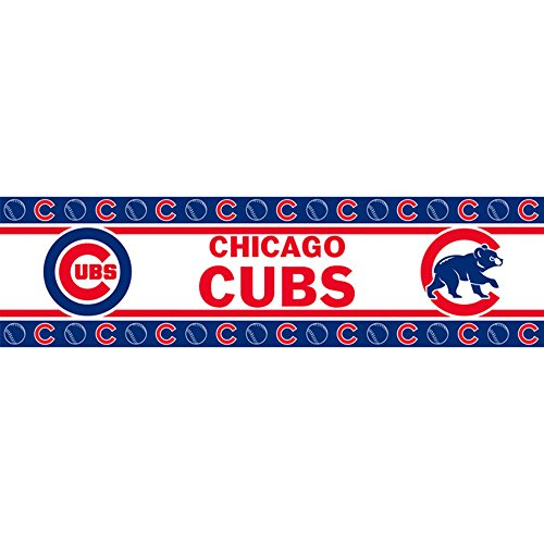 MLB Chicago Cubs Wall Border - Border Wall Mlb