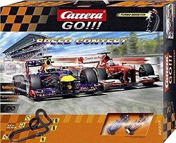 Amazon.com: Carrera GO! Speed Contest- 6,2 m Track Set: Toys ...
