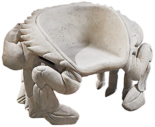Design Toscano Spice Islands Sculptural King Crab Chair