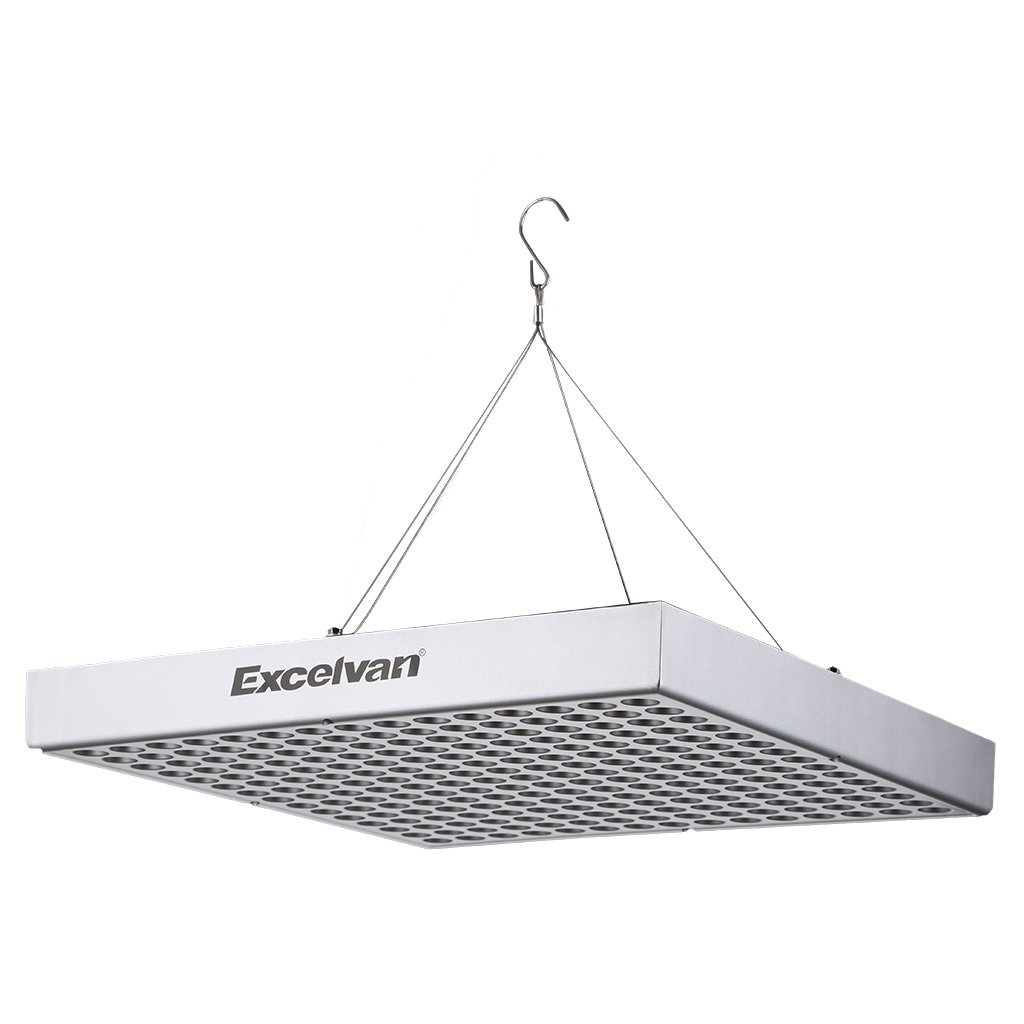 Amazon upgraded excelvan 14w high efficient led plant grow amazon upgraded excelvan 14w high efficient led plant grow light panel full spectrum for indoor plants veg and flower 1 pack garden outdoor arubaitofo Gallery
