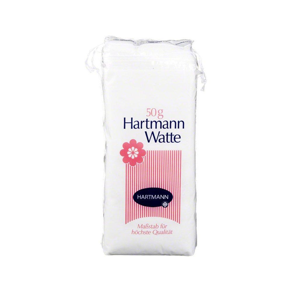 VERBANDWATTE zickzack Hartmann 50 g Watte: Amazon.de: Beauty